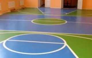Напольное покрытие в спортзал для многофункциональных тренировок