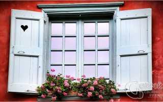 Как поставить деревянные ставни на окна для дачи и дома своими руками