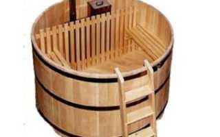 Купель для бани деревянная своими руками недорого