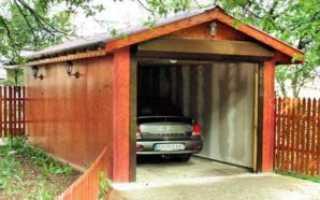 Как построить гараж на даче своими руками: чертежи, проекты, размеры