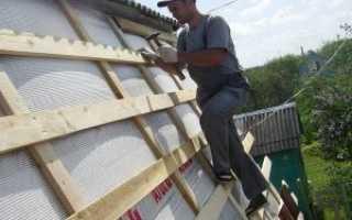 Как сделать обрешетку крыши под металлочерепицу, профнастил, ондулин, шифер