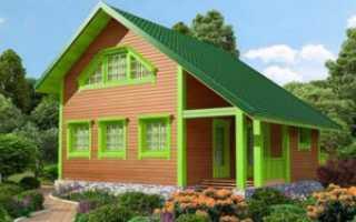 Как построить дом из бруса 100х100 своими руками