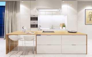 Дизайн белой кухни: особенности оформления