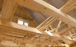 Расчёт деревянной балки перекрытия на прогиб и прочность для строительства частного дома