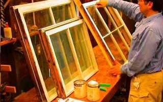 Как сделать ремонт деревянного окна своими руками: пошаговая инструкция