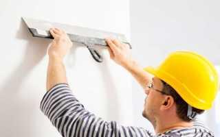 Выравнивание стен в доме своими руками шпатлевкой: технология и пошаговая инструкция
