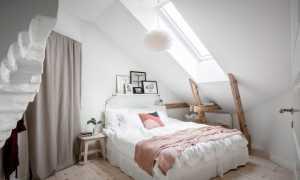Спальня в скандинавском стиле: варианты оформления